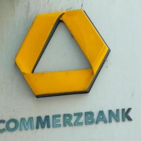 Commerzbank Schild
