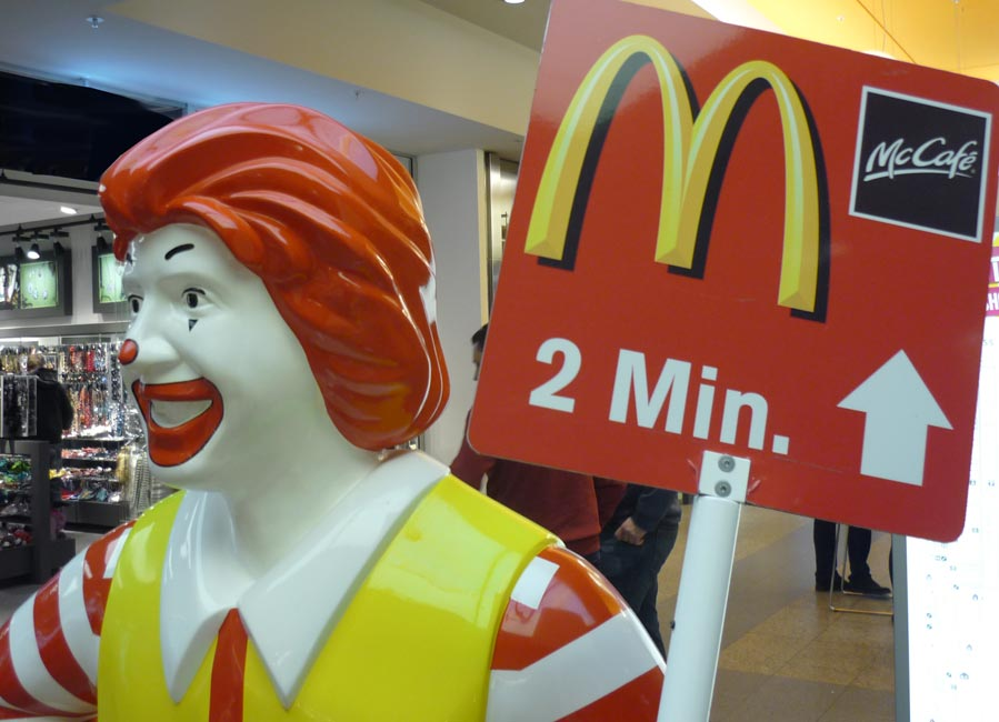Werbefigur Ronald McDonald