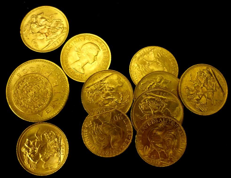 Glänzt immer: Goldmünzen zur Depotbeimischung