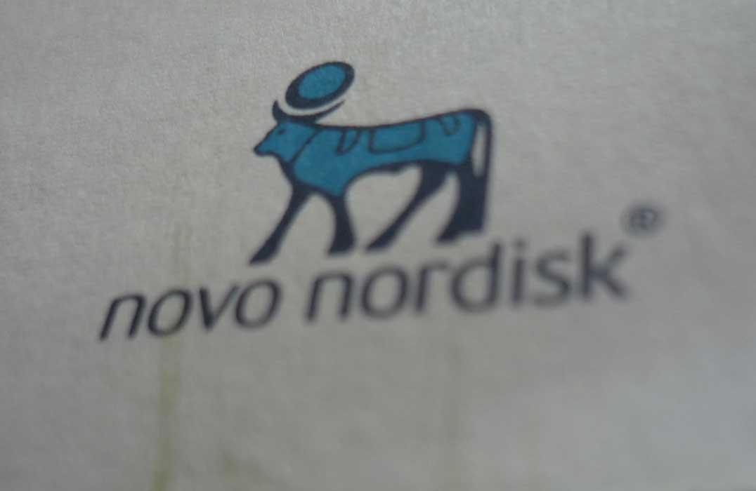 Diabetes Buch mit Novo Nordisk Logo