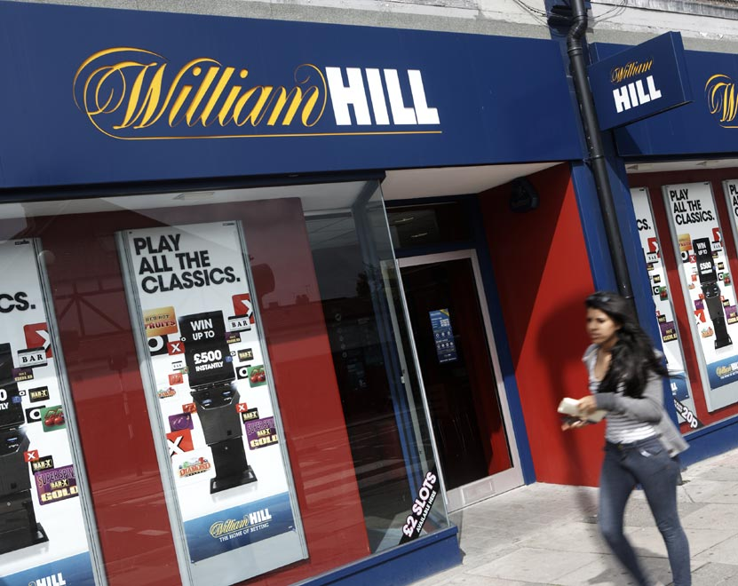 William Hill Shop in London