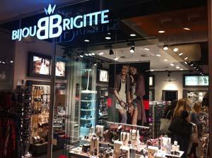 Ladengeschäft des Modeschmuckhändlers Bijou Brigitte