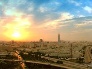 Sonnenaufgang in Riad