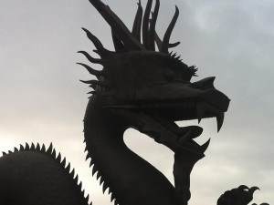 Dunkle Wolken über der chinesischen Wirtschaft ist kein Grund in Panik zu verfallen.