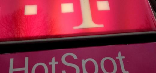 Hot Spot der Deutschen Telekom.