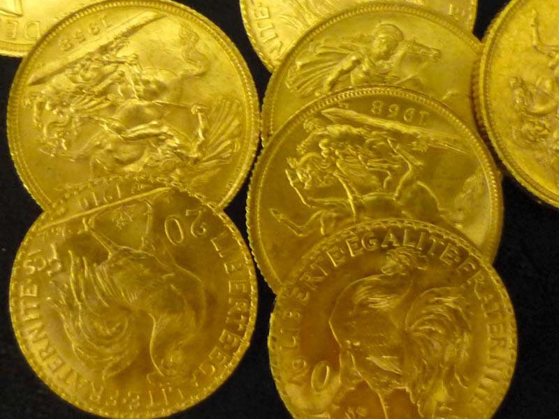 Goldmuenzen