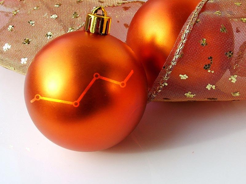 Weihnachts Aktien