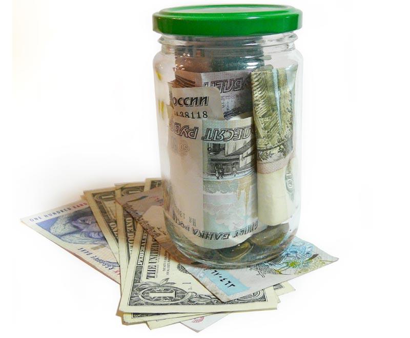 Rubel und andere Währungen