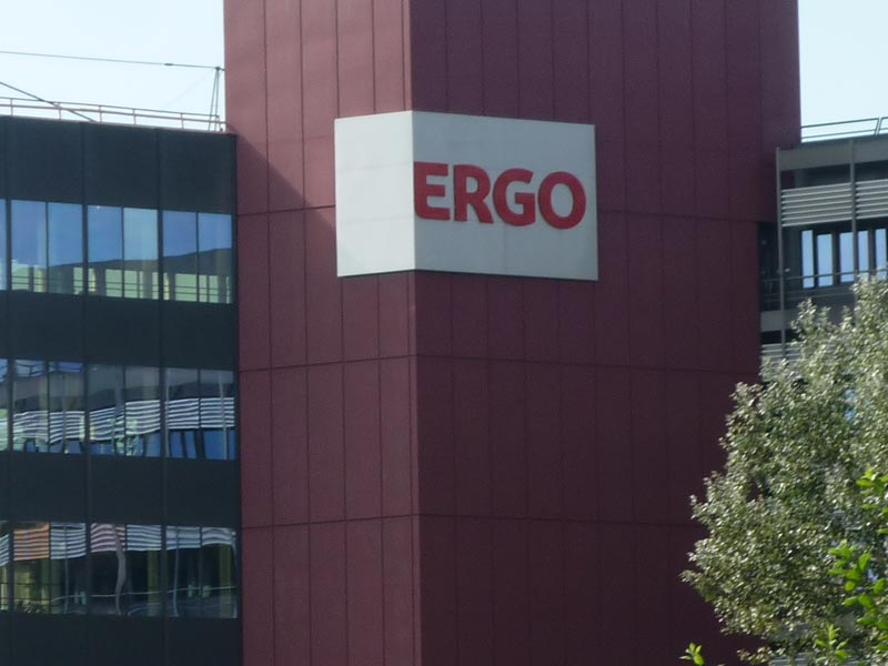 Mit der Tochter Ergo mischt die Münchener Rückversicherung auch im Geschäft mit Erstversicherungen mit