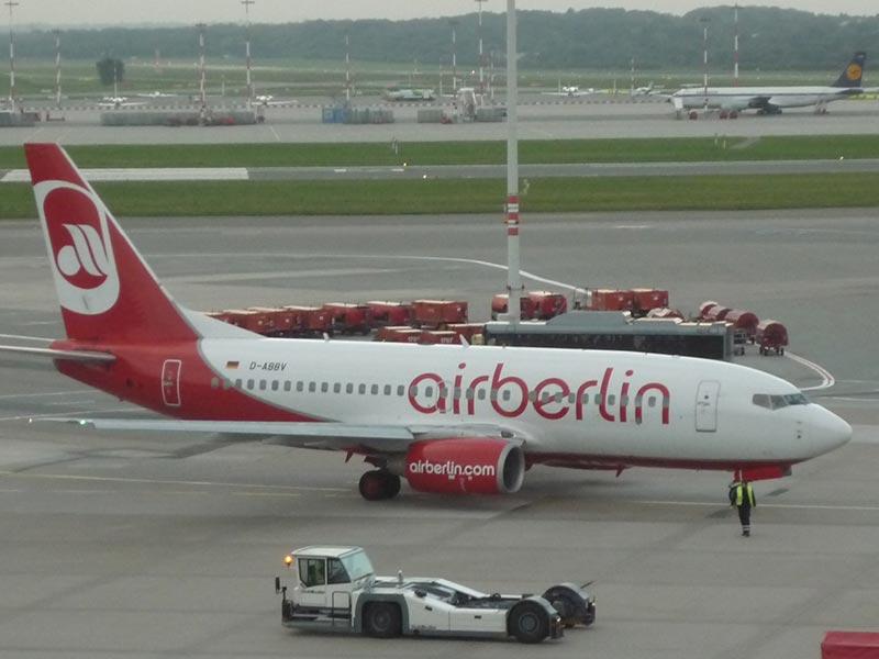 Airberlin Lufthansa